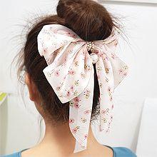 55236边夹顶夹, 蝴蝶结, 植物蝴蝶结 花 弹簧夹 珍珠 珠子