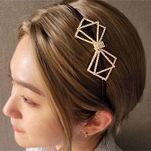 55238发箍发带, 蝴蝶结发箍 蝴蝶结 三角形 方形
