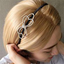 55239发箍发带, 蝴蝶结, 心形蝴蝶结 心形 椭圆形 发箍