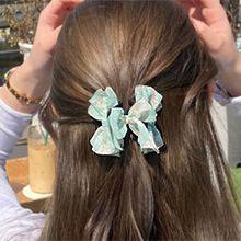 55272爪夹, 蝴蝶结, 心形, 植物蝴蝶结 心形 圆形 圆点 花