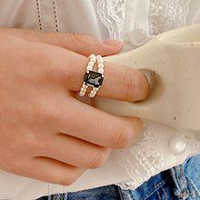 55212长方形 珠子 珍珠 双层