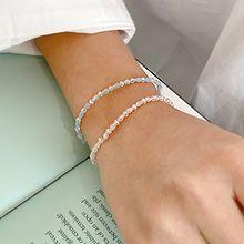 55108穿珠链, 单层链珠子