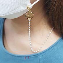 55187笑� �A形 珍珠 珠子 口罩�K  眼�R�
