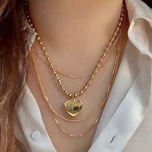 55133珠仔链, 单层链, 心形心形