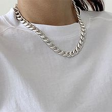 55286锁链形, 单层链锁链 凹凸不平