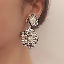 55301耳�式, 植物花 珍珠 珠子