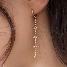 55418耳圈耳扣珠子 整件925银