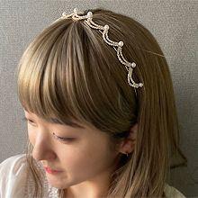 55451发箍发带, 天体自然现象发箍 月亮 波浪 珍珠 珠子