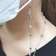 55561心形心形 珠子 珍珠 口罩�K