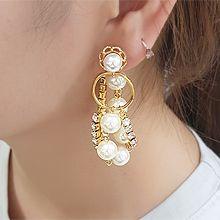 55665耳�式, 植物花 珍珠 珠子 �A�h 后�焓�