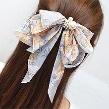 55775边夹顶夹, 蝴蝶结, 植物蝴蝶结 花 珍珠 珠子 弹簧夹