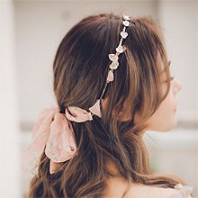 55782发箍发带, 蝴蝶结, 植物发箍 蝴蝶结 花 飘带