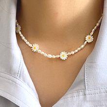 珍珠��55674穿珠�, ��渔�, 植物花 �r菊 天然珍珠 珠子 �E�A形