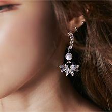 55819耳钉式弧形 珍珠 珠子