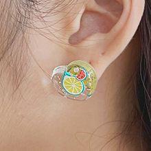 55835耳�式, 心形, 食物/�料心形 西瓜 葡萄 ��檬 �O果