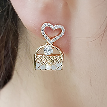 55891耳钉式, 蝴蝶结, 心形, 字母数字/符号, 服饰/配饰心形 蝴蝶结 包 珍珠 珠子 不对称 香水 水滴形 数字5