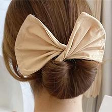 55874发圈发绳, 发箍发带, 蝴蝶结长方形 纯色 盘发 蝴蝶结