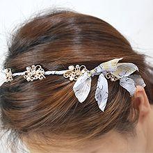 55909发箍发带, 蝴蝶结, 植物花 蝴蝶结 飘带 发箍
