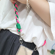 55878麻花 手机链 绳子