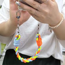 55879麻花 手机链 绳子
