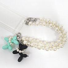 55915狗 珍珠 珠子 手机链