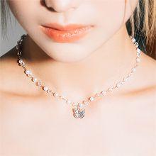55848穿珠链, 单层链, 动物蝴蝶 珍珠  珠子