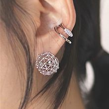 56229耳圈耳扣, 耳夹C形 球形 耳夹