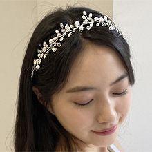 韩国水晶珠珠植物发箍