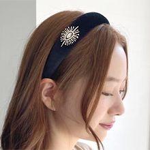 56227发箍发带, 植物花 发箍 水滴形 珍珠 珠子 椭圆形